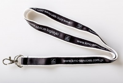 Smycz podwójna naszywana sublimacyjna - KMC Services - producent Perfect