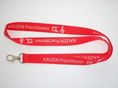 Smycz sublimacyjna na taśmie płaskiej - Kaizen- producent Perfect